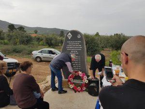 חנוכת אנדרטה לחללי חטיבת אלכסנדרוני