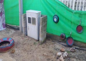 ארון חשמל בגן סביון