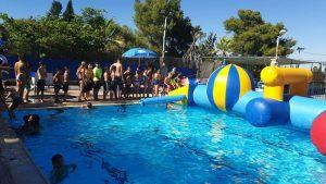 הפנינג תחילת הקיץ בבריכה