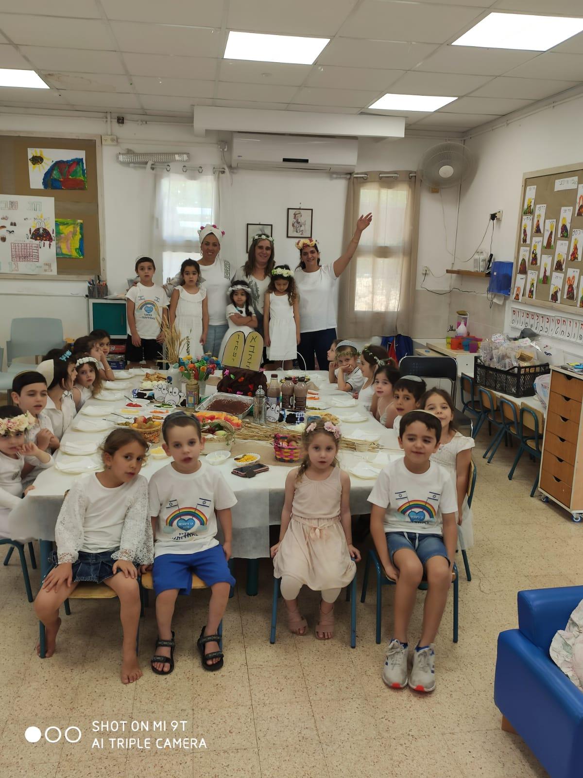 שבועות בגן הילדים