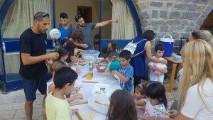 פעילות קיץ בבית היקב